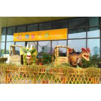 China Interactive Animatronic Ride Dinosaur Display Entertainment Mall on sale