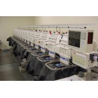 China Industrial computerized Multi-heads Flat Embroidery Machine on sale