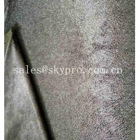 China Polyester Knitted Fabric Rubber Sheet Perforated Neoprene SBR Sheet With Looped Fabric on sale