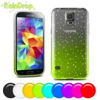 Buy cheap Purple Blue red 4.5 inch Samsung Galaxy s5 Covers and case 0.5mm Thinkness product