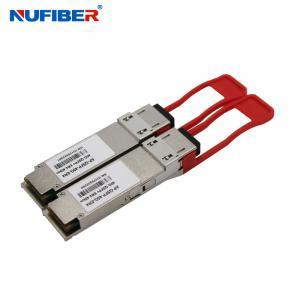 Best QSFP28-100G-ER4 Singlemode 10KM 1310nm LC Fiber Transceiver wholesale