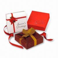 Best Gift Boxes, Suitable for Advertising Purposes, Made of Gray Board, Available with Printing wholesale