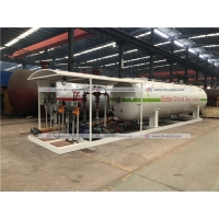 China 10tons LPG Skid Station Propane Cooking Gas Cylinder Refilling Skid Plant on sale