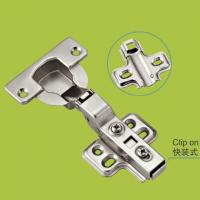 China furniture part door hinges 40 cup, clip-on easy install on sale