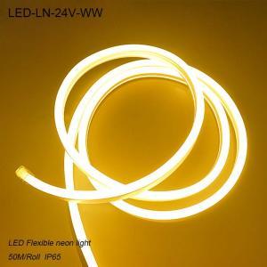 Best Outdoor LED light strip rain-proof IP65 24V flexible led neon light wholesale