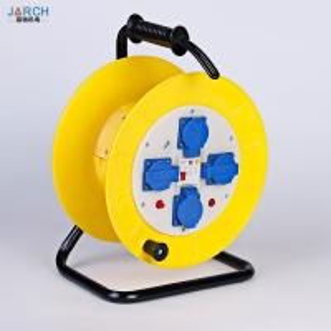 China Waterproof Extension Cord Hose Reel Drum ABS Palstic Material 1800~5000 Watt on sale
