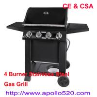 China Professional Gas Barbeque 4burners on sale