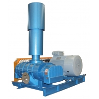 China DN100 Roots Blower Vacuum Pump For Paper Making Industry on sale