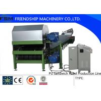 Best New Type PU Sandwich Panel Production Line With Automatically Cutting System wholesale