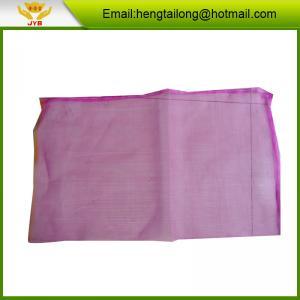 Buy cheap Pink garlic pe mesh bags product