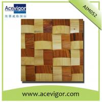 Best Solid wood wall tiles mosaic with wavy shape wholesale