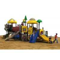 Best Powder Coated Steel Backyard Play Structures For Kids , Outdoor Play Equipment wholesale