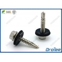 Best Hex Washer Head Stainless Steel 410 Roofing Screw with EPDM Sealing washer wholesale