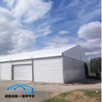 Best Industrial Temporary Warehouse Tent Solid Wall Durable Aluminum Structure wholesale