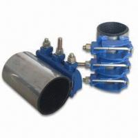 Best Repair Clamp with Stainless Steel Shell, Used for Air, Water and Gas Pipelines wholesale