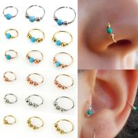 Best Fashion High Quality Nostril Hoop Nose Ring Nose Earring Piercing Hiphop Body Piercing Jewelry wholesale