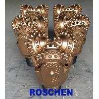 """Cheap 8 1/2"""" Tricone Rock Roller Bits , TCI Tricone Drilling Bit Oil Well Application for sale"""