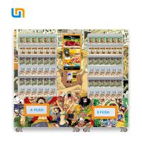 China 653-1193 Capacity Combo Vending Machines For Micron One Piece Anime Poster Comic Book on sale