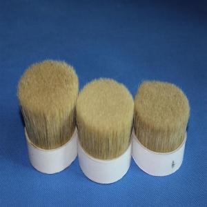Best double  Boiled pig Bristles 60%~90% for paint brush for artist brush wholesale