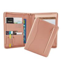 Best PU Leather Portfolio Folder For Business People / College Students wholesale