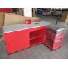 China Multifunctional Shop / Supermarket Checkout Counter Cashier Desk wholesale