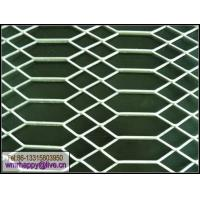 China galvanized gothic expanded metal fence on sale