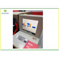 Buy cheap JC6040 Automatically Bi-Directions Scanning X Ray Baggage Scanner In Schools from wholesalers