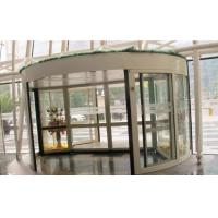 Best 2 Wing Stainless steel  frame Automatic Revolving Door for Hotel / Bank / Airport wholesale
