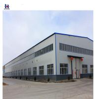 China auto steel structure prefab workshop layout design on sale
