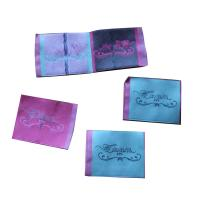 Best Durable Woven Neck Labels for lady clothing personized size color shrink proof wholesale