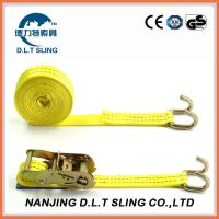 China ratchet straps, Accroding to EN1492-1, ASME B30.9, AS/NZS 4380 Standard,  CE,GS TUV approved on sale