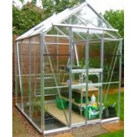 Best new style aluminum greenhouse with louver wholesale