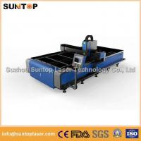 Best Stainless steel and mild steel CNC fiber laser cutting machine with laser power 1000W wholesale