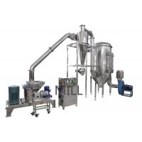 China Ultra Fine Powder Grinding Machine Stainless Steel For Pharmaceutical Line on sale