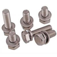Best A2-70 Stainless Steel Hex Bolt With Nut And Washer Size M4-M48 DIN933 wholesale