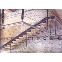 China High Strength Stainless Steel Balustrade Mesh With Unique Flexibility / Brightness on sale