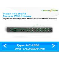 Signal Free To Air Digital Satellite Receiver 3Mbps EMM With 8 Separate Modules