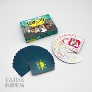 Best German Black Core Paper Plastic Sgs Baby Educational Flash Cards wholesale
