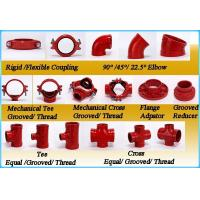 Best Grooved Pipe Fittings Flexible Reducing Coupling with UL FM wholesale