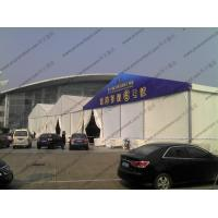 Fire Prevention Art Show Tents 25 x 90m Colorful Cover Automatic With Rolling Shutter
