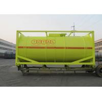 Best International Carbon Steel 20 Foot Tank Container For Oil Transport Or Storage wholesale