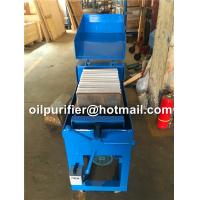 Best Plate Pressure high precise Oil purifier Oil Filter Paper Machine Electricity Factory Facility Aviation Hydraulic filter wholesale