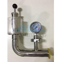 Best Stainless Steel Spring Pressure Relief Valve for Tank  Relief Valve with Manometer for Fermentation Tank wholesale