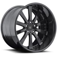 Best Gloss Black Customized Alloy Rims 22 For Land Rover  / 22 inch 2-Piece Forged rims wholesale