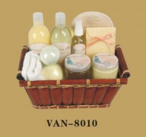 China Bath Gift Set-vanilla Series-8010 on sale