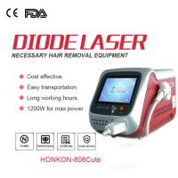 Best Professional Painless 808nm Diode Laser Hair Removal Machine For Beauty Salon wholesale