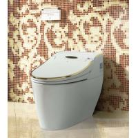 Buy cheap HK768 Golden luxurious stable performance multifunction intelligent smart toilet from wholesalers