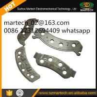 China ISO Certified Auto Car Disc Brake Metal Stainless Steel Backing Plate on sale
