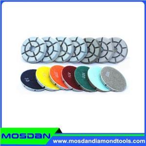 China 3'' Concrete Floor Resin Polishing Pads on sale