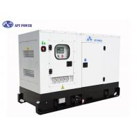Best 4 Cylinders Engine Soundproof Diesel Generator Set 63kVA Prime Output @ 1500rpm wholesale